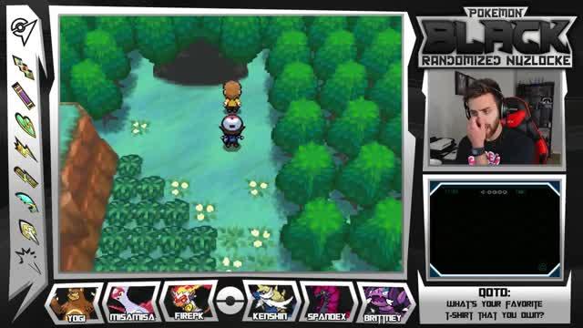Let's Play Pokemon Black Randomized Nuzlocke w/ ShadyPenguinn Ep21