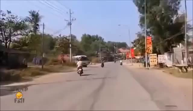 Watch and share Motorcycle Fails Compilation || Weekend 3 GIFs on Gfycat