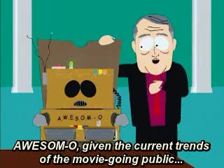 Watch and share South Park GIFs and Awesom O GIFs on Gfycat