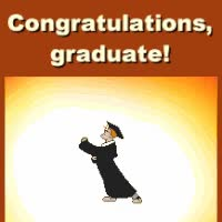 Watch Congratulations Graduate GIF on Gfycat. Discover more related GIFs on Gfycat