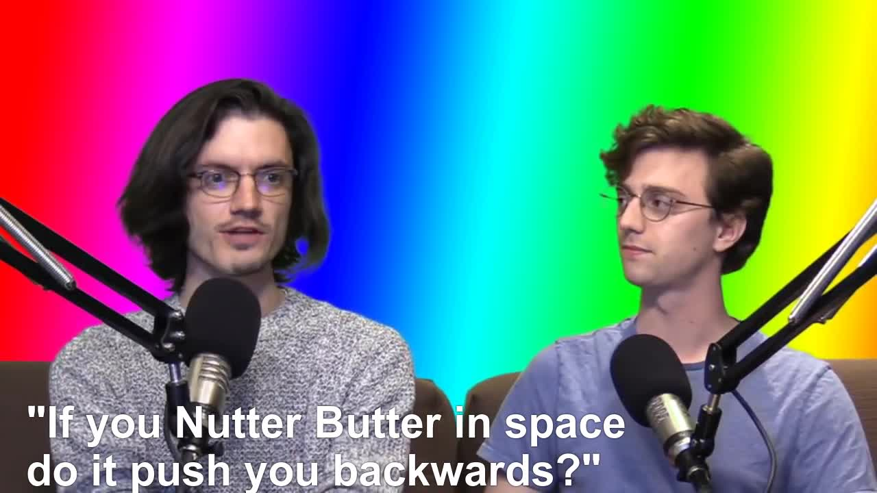 bdg, brian david gilbert, gill and gilbert, mariokart, nutter butter, out of context, pat gill, patrick gill, polygon, if you nut in space... GIFs