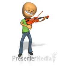Watch and share Smileman Playing Violin GIFs on Gfycat