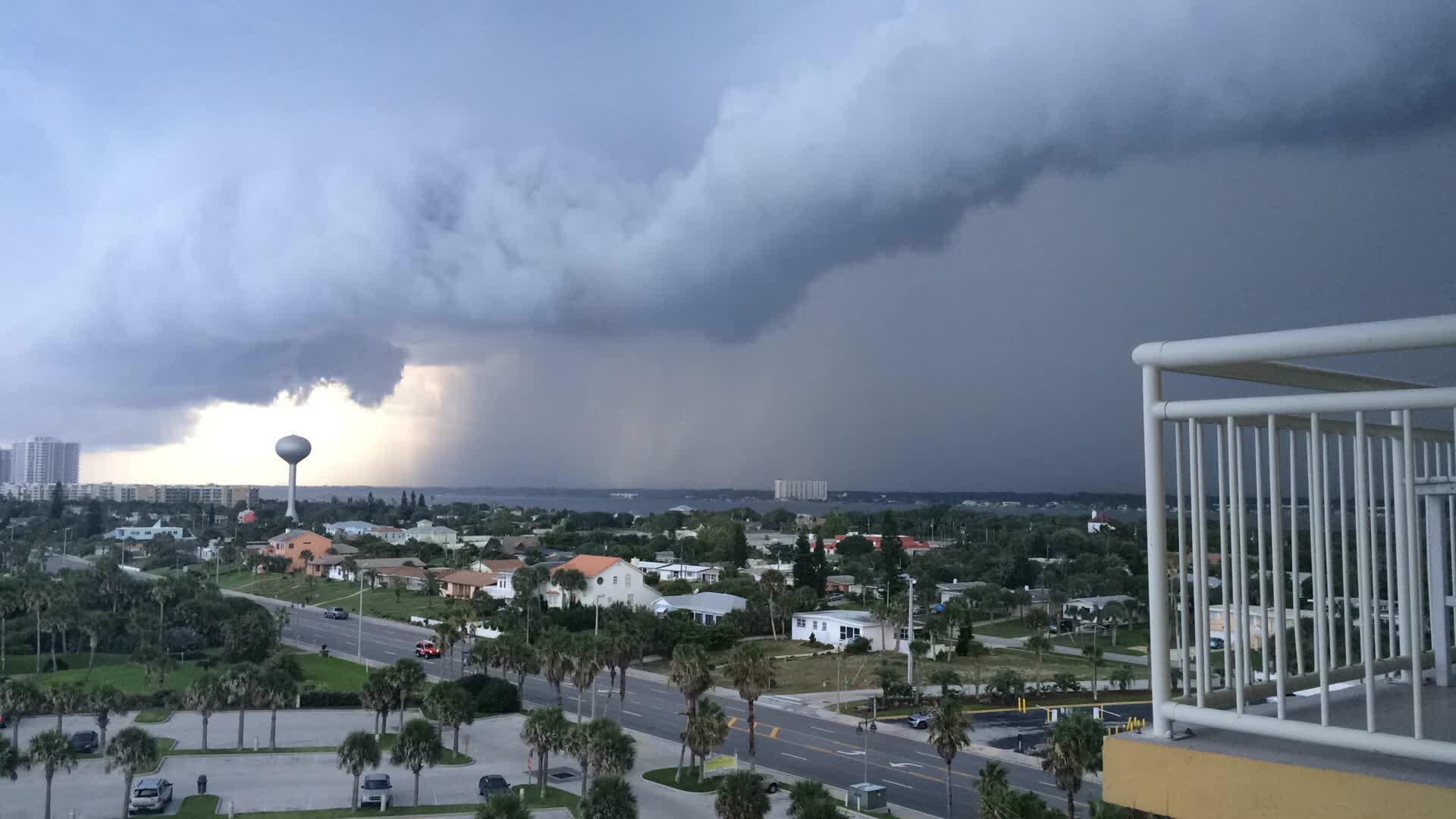 WeatherGifs, weathergifs, Thunderstorm Daytona Beach, FL GIFs