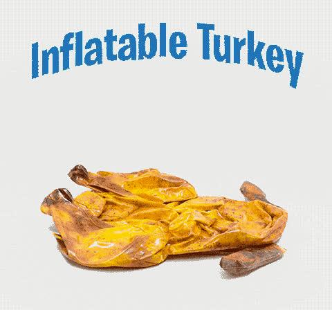 ballon, eat, full, happy, inflatable, thank, thanks, tthanksgiving, turkey, you, Inflatable turkey GIFs