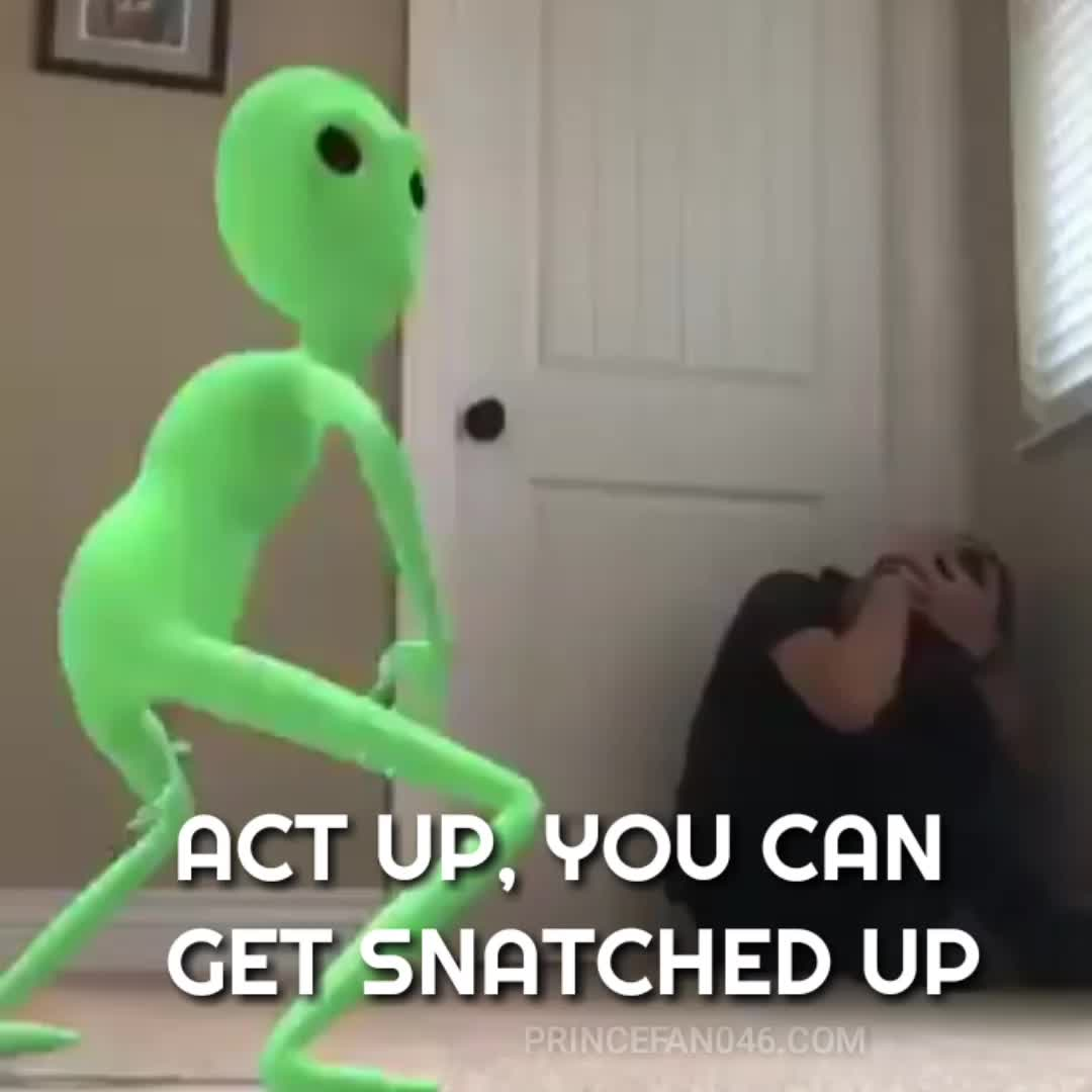 act up, alien, aliens, angry, area 51, black twitter, city girls, comedy, dancing, fight, funny, hilarious, mad, snarky, snatched up, threats, twerk, you can get snatched up, #Actup, You can get snatched up #area51 GIFs