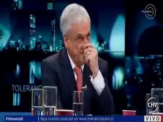 Watch and share Piñera Se Saca Un Moco GIFs on Gfycat