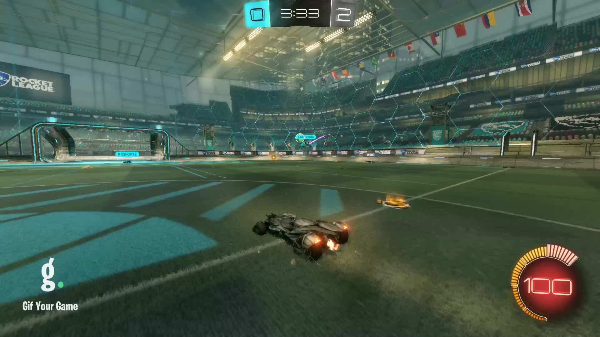 Dilweed [D33], Gif Your Game, GifYourGame, Goal, Rocket League, RocketLeague, Goal 3: Dilweed [D33] GIFs