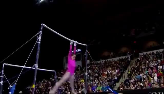 Watch and share Jordyn Wieber GIFs and Gymnastics GIFs on Gfycat