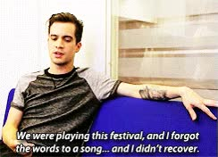 Watch and share * Jesus Brendon Urie 1kplus Panic At The Disco GIFs on Gfycat