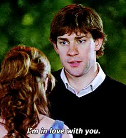 Watch and share Jim And Pam GIFs and Jim Halpert GIFs on Gfycat