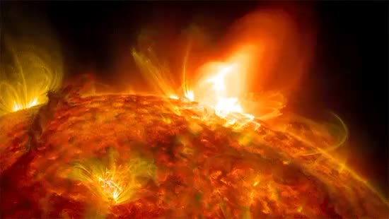 Watch and share Solar Flare GIFs by cosimoss on Gfycat