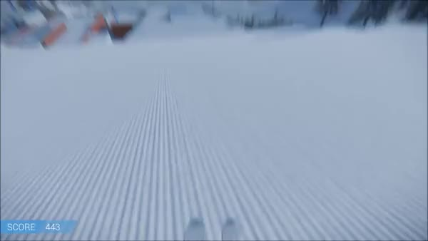 Watch and share First Person Skiing! GIFs by SakuraSiri on Gfycat