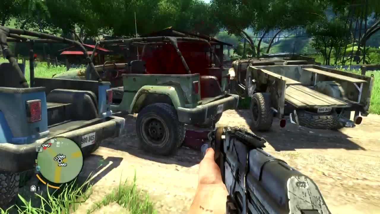 black, blops, bo2, call, duty, gameplay, of, ops, Bloodthirsty jeep in Far Cry 3 GIFs