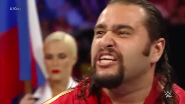 Rusev Plays Video of Cena Quitting GIF | Find, Make & Share Gfycat GIFs