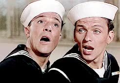 Watch and share Anchors Aweigh GIFs and Frank Sinatra GIFs on Gfycat