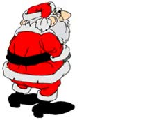 "Watch and share Small Santa Claus Greeting ""Season's GIFs on Gfycat"