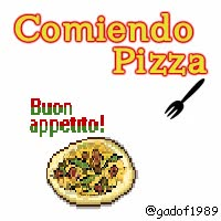 Watch and share IMAGEN BBM: COMIENDO PIZZA GIF GIFs on Gfycat