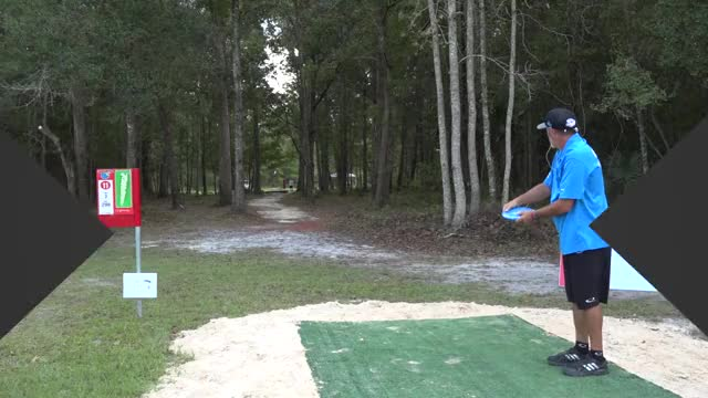 Watch Quarterfinals 2018 DGPT Championship - MPO B9 | JohnE McCray hole 11 drive GIF by Benn Wineka UWDG (@bennwineka) on Gfycat. Discover more ccdg, cory murrell, dgpt, disc golf, disc golf pro tour, drew gibson, eric oakley, johne mccray, nate perkins, pdga GIFs on Gfycat