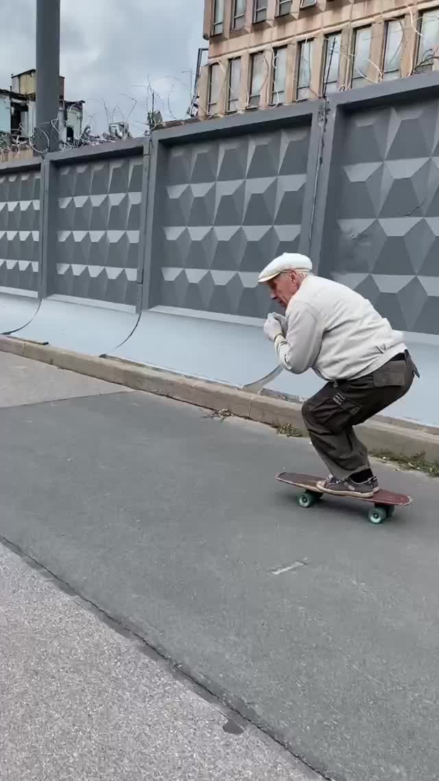 Watch and share 73 Year Old Skateboarder GIFs by Boojibs on Gfycat