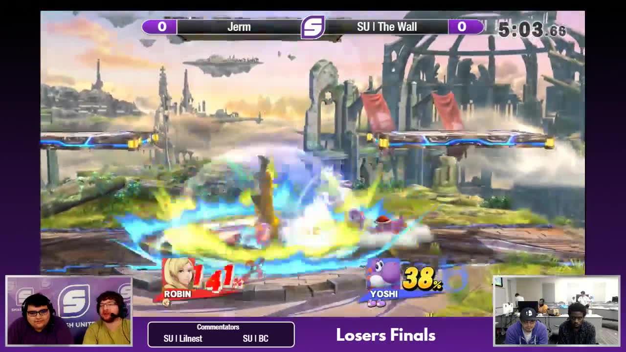 games, twitch, yoshi, SFC 48 - Jerm vs. SU | The Wall - Loser's Finals GIFs