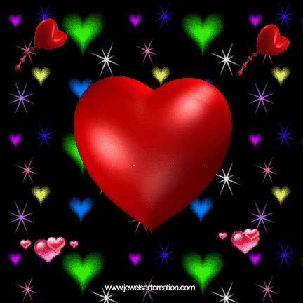Watch and share Animated Heart Background GIFs on Gfycat