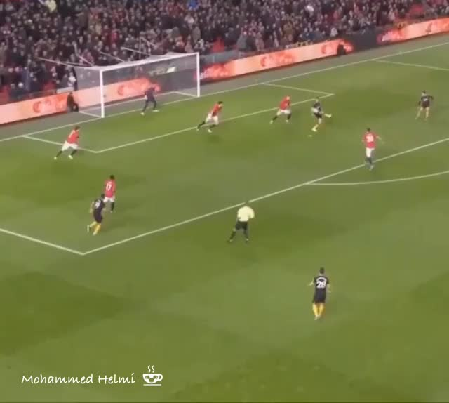 Watch and share Manchester United GIFs and Raul Jimeniz GIFs by Helmi.Cappuccino on Gfycat