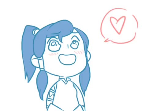 Watch and share Chibi Korra GIFs and Cccriativo GIFs on Gfycat