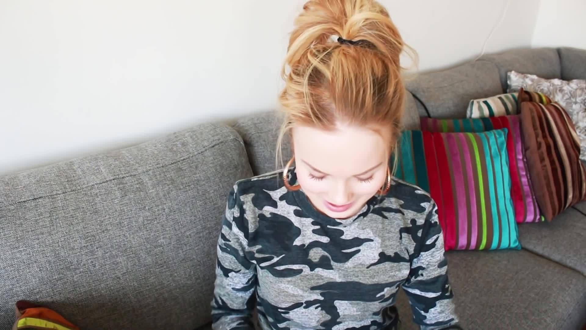 Nya vårkläder - try on GIFs