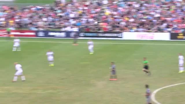 Watch HIGHLIGHTS: Minnesota United FC vs. Swansea City AFC | July 19, 2014 GIF on Gfycat. Discover more Football, Minnesota, mnufc, nasl, soccer GIFs on Gfycat