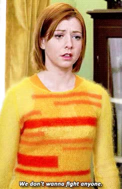 Watch and share Alyson Hannigan GIFs and Fight GIFs on Gfycat