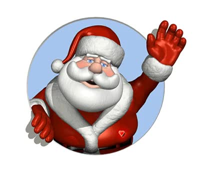 Watch and share Santa Waving GIFs on Gfycat