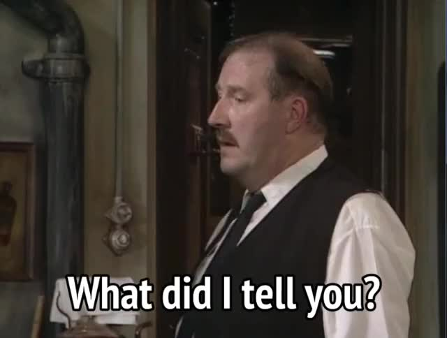 Watch and share What Did I Say GIFs and Gorden Kaye GIFs by MikeyMo on Gfycat