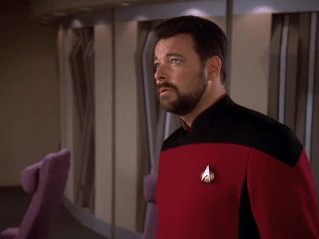Watch and share The Next Generation GIFs and Commander Riker GIFs by Star Trek gifs on Gfycat