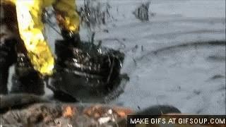 Watch and share Enbridge Tar Sands Oil Spill, MI GIFs on Gfycat