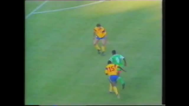 Watch CAMEROON - MILLA vs Colombia, 1990 GIF on Gfycat. Discover more related GIFs on Gfycat