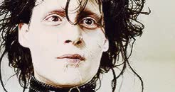 Watch and share Edward Scissorhands GIFs and Winona Forever GIFs on Gfycat
