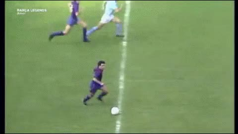 Watch and share Guillermo Amor. Barcelona - Celta Vigo. 1988-89 GIFs by fatalali on Gfycat