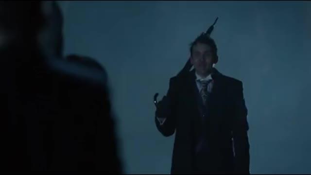 Watch Azrael's Death (Theo Galavan) ~ Gotham 2x20 GIF by @dcmarvellegend on Gfycat. Discover more azreal, galavan, gordon GIFs on Gfycat
