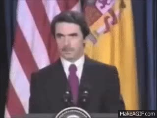 Watch and share Aznar (estamos Trabajando En Ello) GIFs on Gfycat