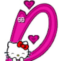 Watch and share Hello Kitty Alphabet Animated Gif animated stickers on Gfycat