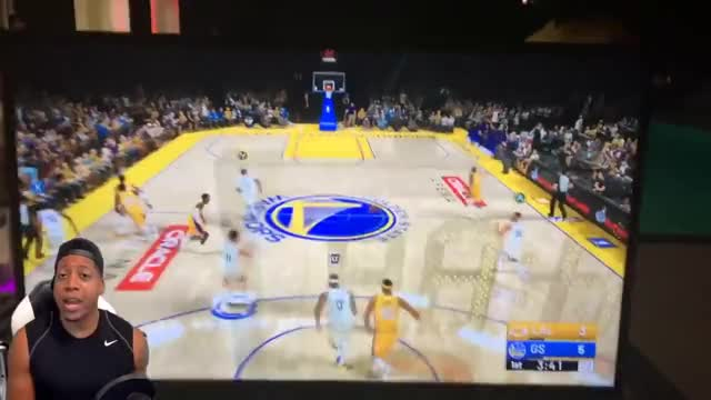 Watch NBA 2K19 Gameplay - Ball Color GIF on Gfycat. Discover more 2k18, Dunking, Elite, Neighborhood, Posterizer, Tips, badges, basketball, cheese, crossover, defense, dribbling, dunks, nba2k18, playmaker, pure, release, shakedown2012, slasher, ultimate GIFs on Gfycat