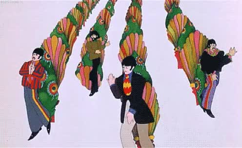 Watch beatles, the beatles, yellow submarine GIF on Gfycat. Discover more related GIFs on Gfycat