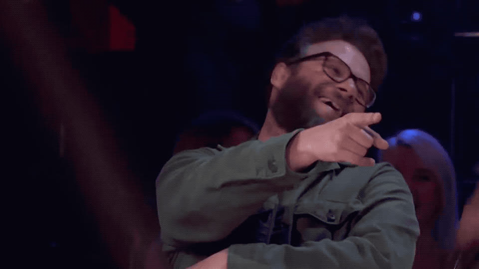 battle, drop, fun, funny, haha, hehe, joke, joking, laugh, laughing, lol, loser, loud, make, mic, out, rogan, seth, the, winner, Seth Rogen - LOL GIFs