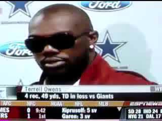 Watch Terrell Owens Crying GIF on Gfycat. Discover more related GIFs on Gfycat
