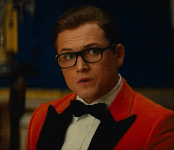 Watch and share Taron Egerton GIFs and Kingsman 2 GIFs by Reactions on Gfycat