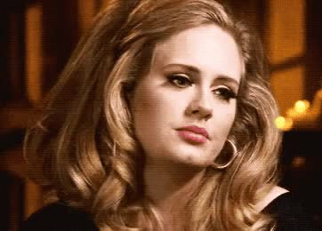 Watch and share Adele GIFs and Music GIFs by Reactions on Gfycat