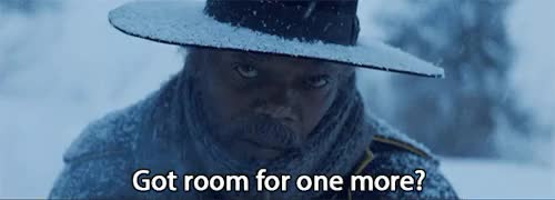 Watch this hateful eight GIF on Gfycat. Discover more 2015 movies, 70mm, GIF, action, action movie, bruce dern, film, gif, jennifer jason leigh, kurt russell, michael madsen, movie, quentin tarantino, samuel l jackson, tarantino, the hateful eight, tim roth, trailer, walton goggins, western, zoe bell GIFs on Gfycat