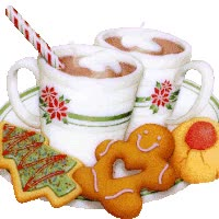 Watch Cocoa and X-mas cookies GIF on Gfycat. Discover more related GIFs on Gfycat
