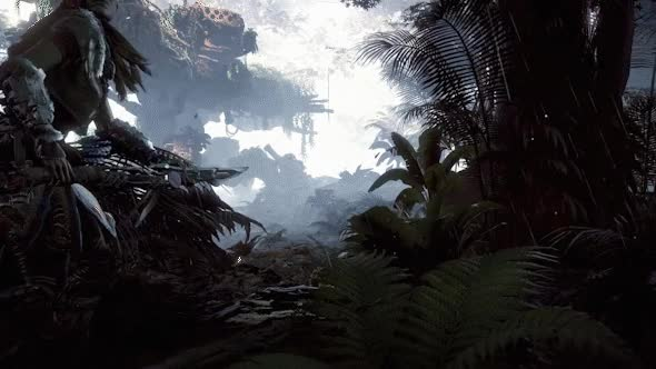 Watch and share Aloy In The Jungle Horizon Zero Dawn Gif 3 GIFs on Gfycat