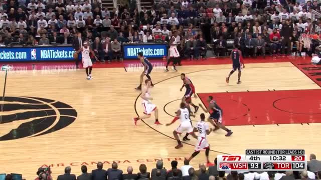 Watch and share Washington Wizards GIFs and Toronto Raptors GIFs by demarjgrant on Gfycat